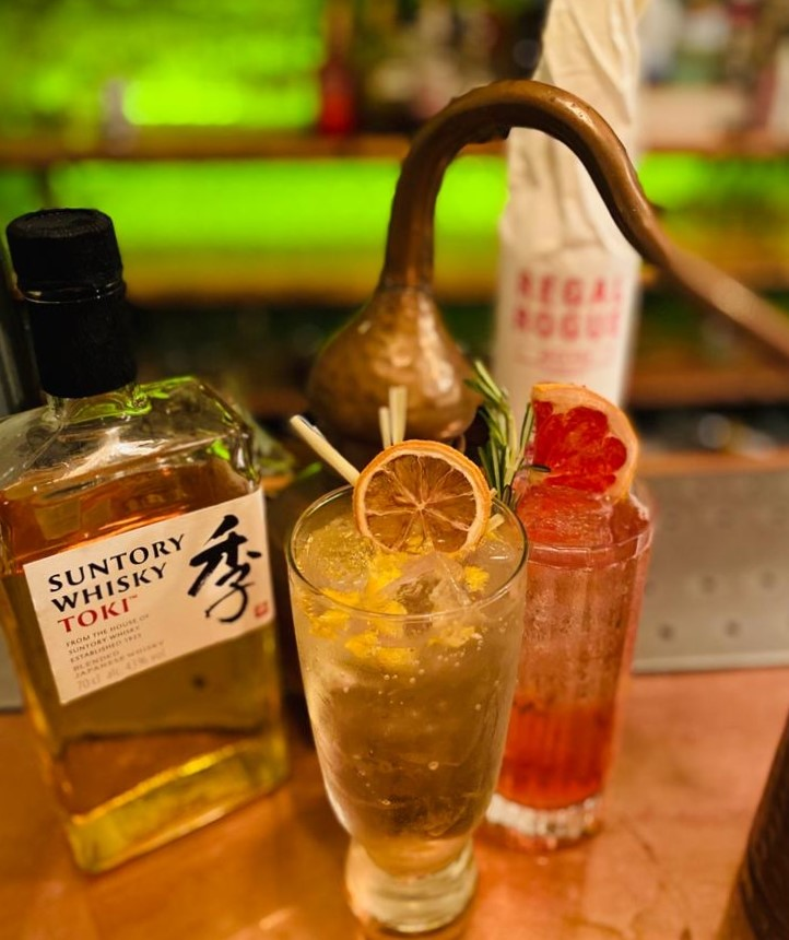 The highball cocktail
